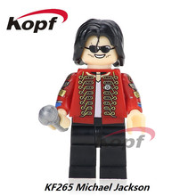 Single Sale Super Heroes Custom Halloween Michael Jackson Thriller Zombie Bricks Model Building Blocks Children Gift Toys KF265