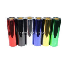 6yards Heat Transfer Vinyl Film PET Metal light Mirror Finish for Textile Print