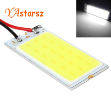 Car led Super Bright White 8W COB 36 Chip LED 18 led Car Interior Light 12V Car LED Panel light Car Interior lights