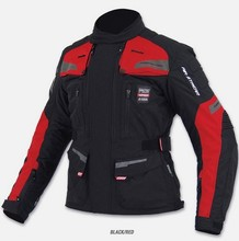JK546 Motorcycle riding jacket / warm cold seasons racing jacket / Men's moto jackets(China)