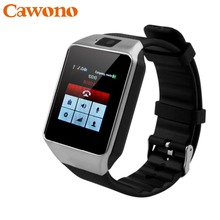 CAWONO Bluetooth Relogio Smart Watch DZ09 Smartwatch Anti-lost SIM TF Card Wearable Devices with Camera for Apple Android VS Y1(China)
