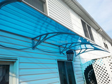 DS100360-P,100x360cm,Depth 39.37'',Width 141.73'',solid polycarbonate sheet front door awnings(China)