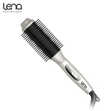 Lena LN-209 220V Perfect Comb Hair Curler Straightener Hair Curlers Rollers Hair Brush Magic Curling Iron Hair Styler(China)