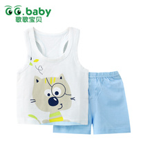 2pcs/set Tshirt Shorts Cotton Baby Clothing Set Newborn Baby Outfits Girl Boy Kids Clothes Sets Summer Style Roupas Bebes Suits