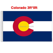 New fashion 90*150 cm Colorado flag United State American Banner Office/Activity/parade/Festival/Home Decoration(China)
