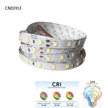 2017 New CRI>80  15W/m, Seoul 55lm  5630 SMD LED ,white/warm white/nature white daylight non waterproof DC24V LED Strip,60LED/m