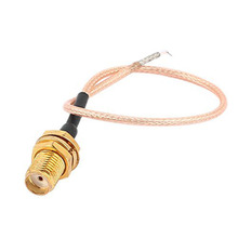 SMA Female Jack Adapter Antenna RG316 PCB Solder Pigtail Cable Cord 50 Ohm For WIFI Wireless Router GPS GPRS Low Loss