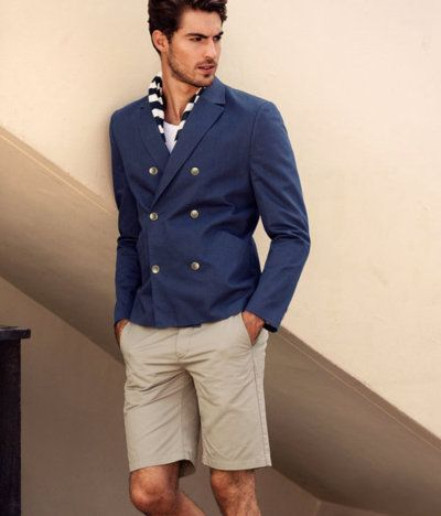 Online Buy Wholesale navy blue suit men pattern short from China ...