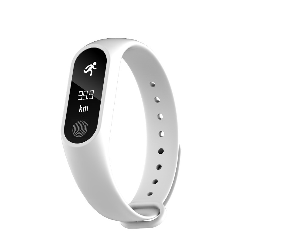 Smartch Smart Band Bracelet M2 Plus Blood Pressure Oxygen Oximeter Heart Rate Bluetooth Watch Fitness Tracker iOS Android