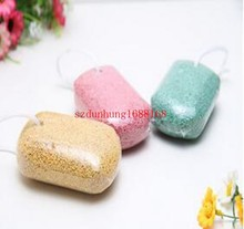 Wholesale Callous Corn Remover Cuticle Pedicure Pumice Rubbing Stone Exfoliate Sponge Foot Care Beauty 300pcs/lot free shipping