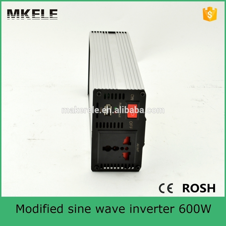 MKM600-242G micro power inverter 600w 220/230vac modified sine wave 24vdc 600 watt power inverter portable inverter<br>
