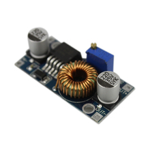 Free shipping 5A Max DC-DC XL4005 Step Down Adjustable Power Supply Module LED Lithium Charger board