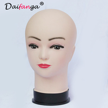 1pcs Female Mannequin Head for Wigs Manikin Head Hair Mannequin Styrofoam Head Hat Display Manequins Head