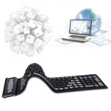 Wireless Waterproof Flexible Rollup Portable  Silicone Keyboard APE