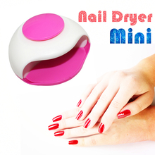Hot ! Pro Mini Nail Dryer For Nail Gel Polish Curing Nails Art Make up Dryers Art Manicure Automatic Gel dry Machine Tool Women(China)