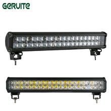 20inch 126W offroad car led light bar Driving Boat Car Truck Led Light Spot Flood led light 4X4 4WD ATV Car led driving lamp