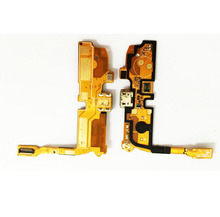 For LG Optimus L90 D405 D410 D415 Single Sim Charger Dock Connector Micro USB Charging Dock Port Microphone Flex cable Original(China)