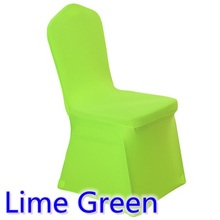 spandex chair cover lime green colour flat front close amazing colour beautiful look for hotel chairs party decoration wholesale