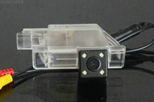 For PEUGEOT 301 Rear view camera With Parking Line Waterproof Night Vision 4LED CCD back up camera(China)