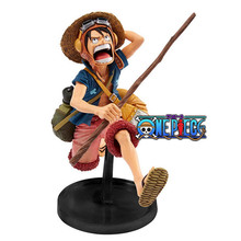 "Anime One Piece Luffy SCultures 15cm/6"" BIG Figure Colosseum 4 Vol.1 Portrait of Pirates Monkey D Luffy Figure New in Box 5566(China)"