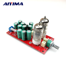 Aiyima Fever 6J1 Tube Preamplifier Board Tube Amp Amplifiers Audio Board(China)