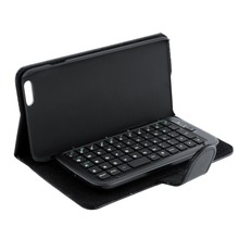 "Black Slide-Out Wireless Bluetooth 3.0 Keyboard leather Case Cover Fit For 5.5""  iPhone 6 Plus"