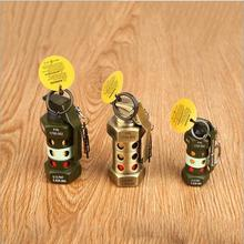 Character military grenade lighters, gas windproof lighters M-84