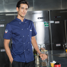 2017 autumn chef jacket hotel cook service waiter jacket  cook jacket work hotel restaurant uniforms chef uniform