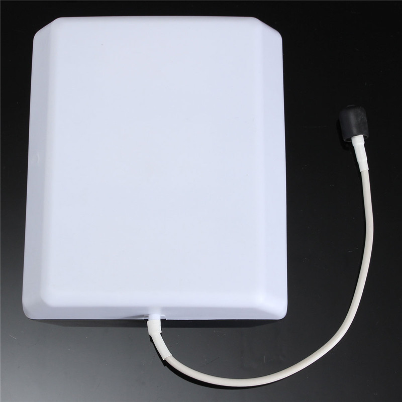 800-2500MHz CDMA GSM 2.4G 3G Enhanced High Gain Panel Antenna Panel Mobile Cell Phone Signal Repeater Booster Indoor Antennas(China (Mainland))