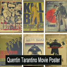 Inglourious Basterds / Django Unchained / Reservoir Dogs / Kill Bill Quentin Tarantino Poster Videos(China)