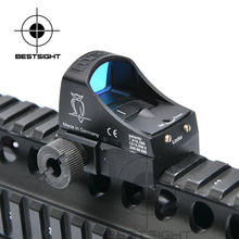 Docter Sight 3 Mini Red Dot Sight Reflex Holographic Dot Sight Auto Brightness Laser Sight Scope For Airsoft