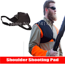 Fast Shipping Sports Protective Shooting Pad for Shoulder Canvas Buttstock Recoil Shiled Shotgun Rifle Pad Hunting Accessories
