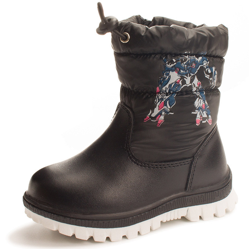 22-27 Winter Boots Girls High Quality Children Botas For Kids Shoes Warm Baby Shoe Boy Kids Boots Footwear<br>