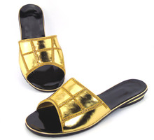 doershow Special Design African Sandals Platform Shoes Luxury Diamond Crystal Women Shoes Hot!!DD1-50(China)