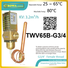 Temperature operated water valves can be used in 2 stages self refrigerantion units or 3 stages cascade ultra-low temp. units(China)