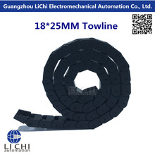 Best price Towline + Cable carrier + nylon Tuolian +Drag Chain + engineering towline + towline cable +18*25-1000mm