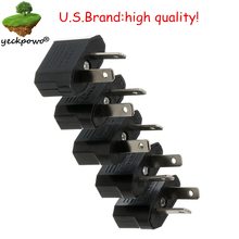 U.S. brand high quality! 5 pcs US to AU Plug adaptor plug convertor Travel Adapter Power plug Converter Wall Plug