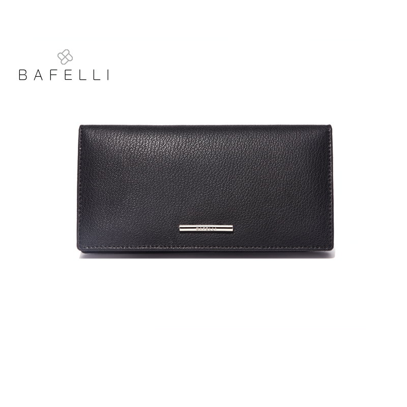 BAFELLI split leather womens wallets high capacity long pures unisex money clips 4 colors women famous brands wallets<br>
