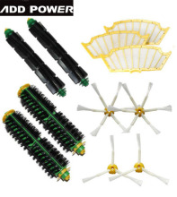 High Quality Can Track Bristle & Flexible Beater Brush Armed Filter kit for iRobot Roomba 500 Series 520 530 540 550 560