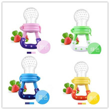 4PCS Hot Sale! New Children Nipple Fresh Milk Products Nibbler Feed Feeding Supplies Baby-safe Nipple Pacifier 4colors TRQ0086(China)