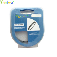 High quality 40.5 43 46 49 52 55 58 62 67 72 77mm UV Digital Filter Lens Protector for canon nikon DSLR SLR Camera with package(China)