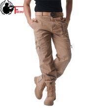 Dropshipping Suppliers Usa Mens Cargo pants Male Tactical Pant Military Casual Jogger Camo Multi Pocket Trouser Camouflage(China)