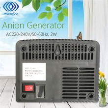 New Intelligent Air Purifiers Ionizer Airborne Negative Ion Anion Generator US Plug Black White(China)