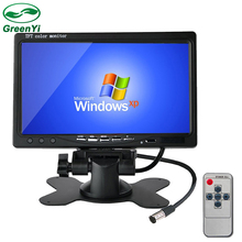 "HD 7""  800*480 Car Rearview Parking Monitor TFT Color Auto Headrest Video Player with 2 Video Input"
