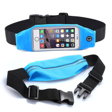 "Gym Waist Belt Pouch Universal For 5.2"" 5.5"" 4.7 inch Case For Meizu m3s Xiaomi Redmi 3s Note 4 Waterproof Running Phone Bag(China)"