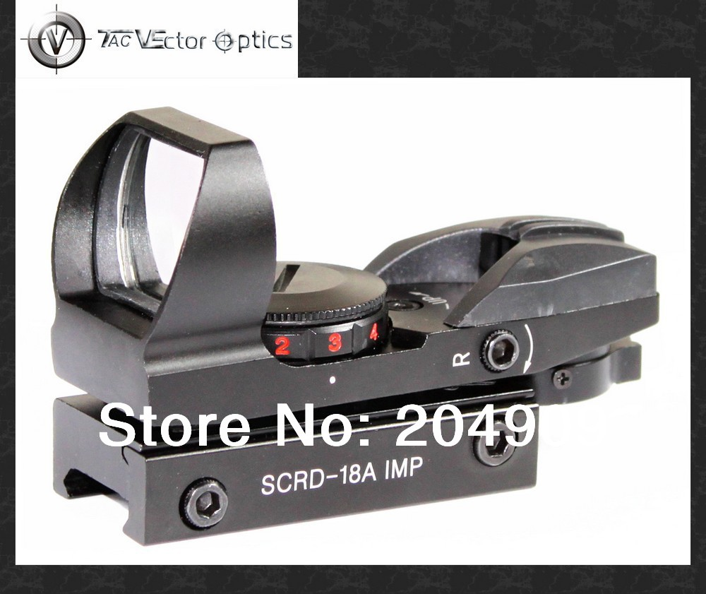 Vector Optics IMP 1x23x34 Camera Red Green Dot Sight Scope with 20mm Weaver Base Free Shipping<br>