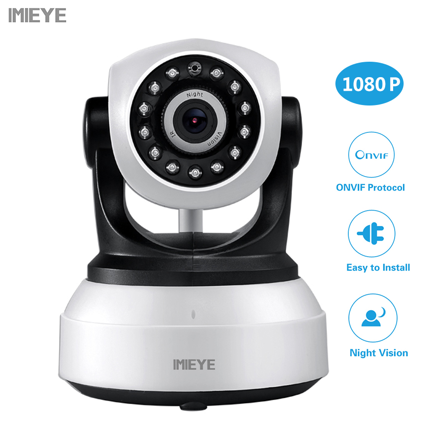 IMIEYE 1080P Full HD 720P Wifi Wireless IP Camera Surveillance Home Security CCTV Camera With IR Night Vision For Baby Monitor<br>