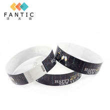 Event products 200pcs no logo paper wrist band   for  sale,couples wristbands,low cost wristband,custom  wristbands