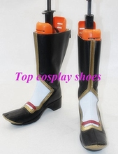 The Sword Dance Touken Ranbu Kasen Kanesada Cosplay Costume Boots Shoes new come #TR005 hand made Custom made