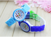 Kids Watches Children Silicone Wristwatches doraemon  Brand Quartz Wrist Watch Baby For Girls Boys Fashion Casual Reloj
